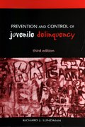 Cover for Prevention and Control of Juvenile Delinquency