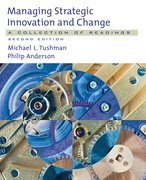 Cover for Managing Strategic Innovation and Change