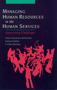 Cover for Managing Human Resources in the Human Services
