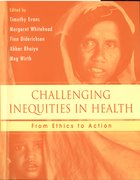 Cover for Challenging Inequities in Health