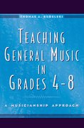 Cover for Teaching General Music in Grades 4-8