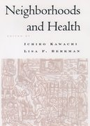 Cover for Neighborhoods and Health