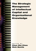Cover for The Strategic Management of Intellectual Capital and Organizational Knowledge