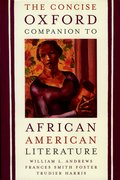 Cover for The Concise Oxford Companion to African American Literature