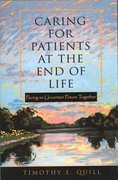 Cover for Caring for Patients at the End of Life
