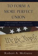 Cover for To Form A More Perfect Union