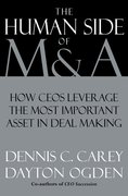 Cover for The Human Side of M & A