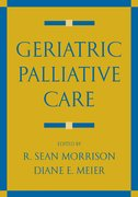 Cover for Geriatric Palliative Care