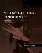 Cover for Metal Cutting Principles
