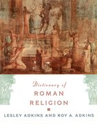 Cover for Dictionary of Roman Religion