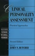 Cover for Clinical Personality Assessment