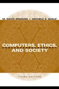 Cover for Computers, Ethics, and Society