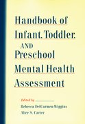 Cover for Handbook of Infant, Toddler, and Preschool Mental Health Assessment