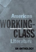 Cover for American Working-Class Literature