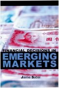 Cover for Financial Decisions in Emerging Markets