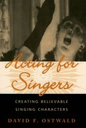 Cover for Acting for Singers