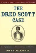 Cover for The Dred Scott Case