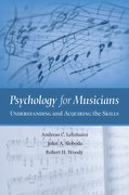 Cover for Psychology for Musicians