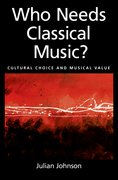 Cover for Who Needs Classical Music?