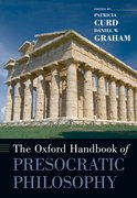 Cover for The Oxford Handbook of Presocratic Philosophy