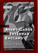 Cover for The Avant-Garde in Interwar England