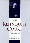 Cover for The Rehnquist Court