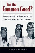 Cover for For the Common Good?