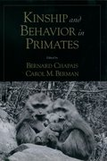 Cover for Kinship and Behavior in Primates