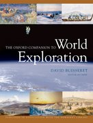 Cover for The Oxford Companion to World Exploration