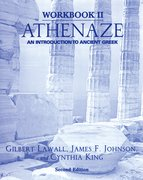 Cover for Workbook II: Athenaze