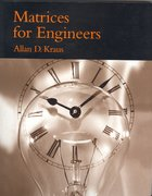 Cover for Matrices for Engineers