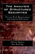 Cover for The Analysis of Structured Securities