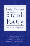 Cover for Early Modern English Poetry