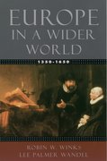 Cover for Europe in a Wider World, 1350-1650