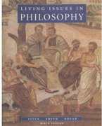 Cover for Living Issues in Philosophy