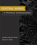 Cover for Central Works in Technical Communication
