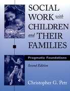 Cover for Social Work with Children and Their Families