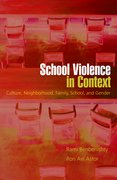 Cover for School Violence in Context