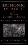 Cover for Bubonic Plague in Early Modern Russia
