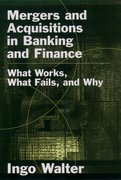Cover for Mergers and Acquisitions in Banking and Finance