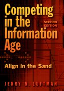 Cover for Competing in the Information Age