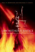 Cover for Law without Justice