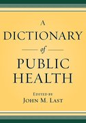 Cover for A Dictionary of Public Health