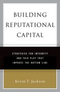 Cover for Building Reputational Capital