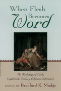 Cover for When Flesh Becomes Word