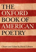 Cover for The Oxford Book of American Poetry