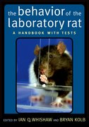 Cover for The Behavior of the Laboratory Rat