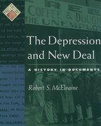 Cover for The Depression and New Deal