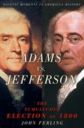 Cover for Adams vs. Jefferson