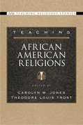 Cover for Teaching African American Religions